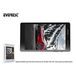 Everest Digiland 4 Çekirdek 1,3 Ghz 8Gb DL8006 Tablet-Siyah
